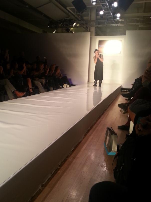 Ashton Michael designer #NYFW FW13 Style360