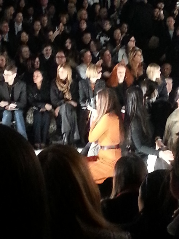 Anna Wintour and Grace Coddington at Michael Kors #NYFW FW13