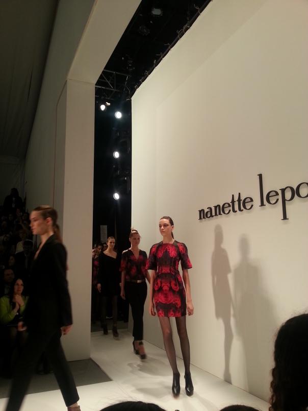 Nanette Lepore#NYFW FW13 lincoln Center