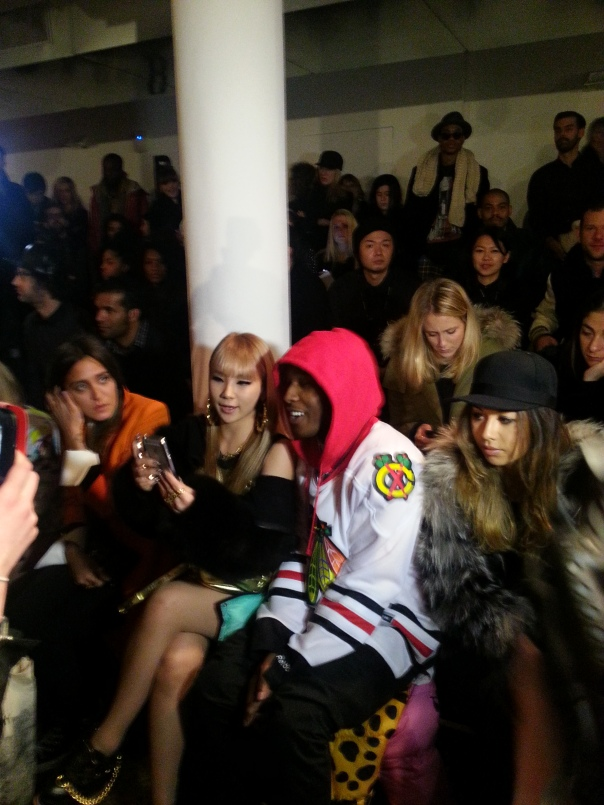 ASAP Rocky at Jeremy Scott#NYFW FW13