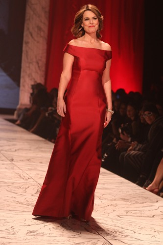 The Heart Truth Red Dress Show at Hammerstein Ballroom