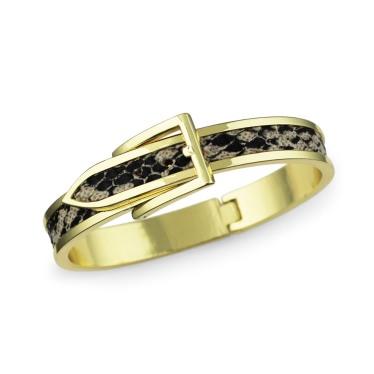 Roman and Sunstone Python Buckle Bracelet