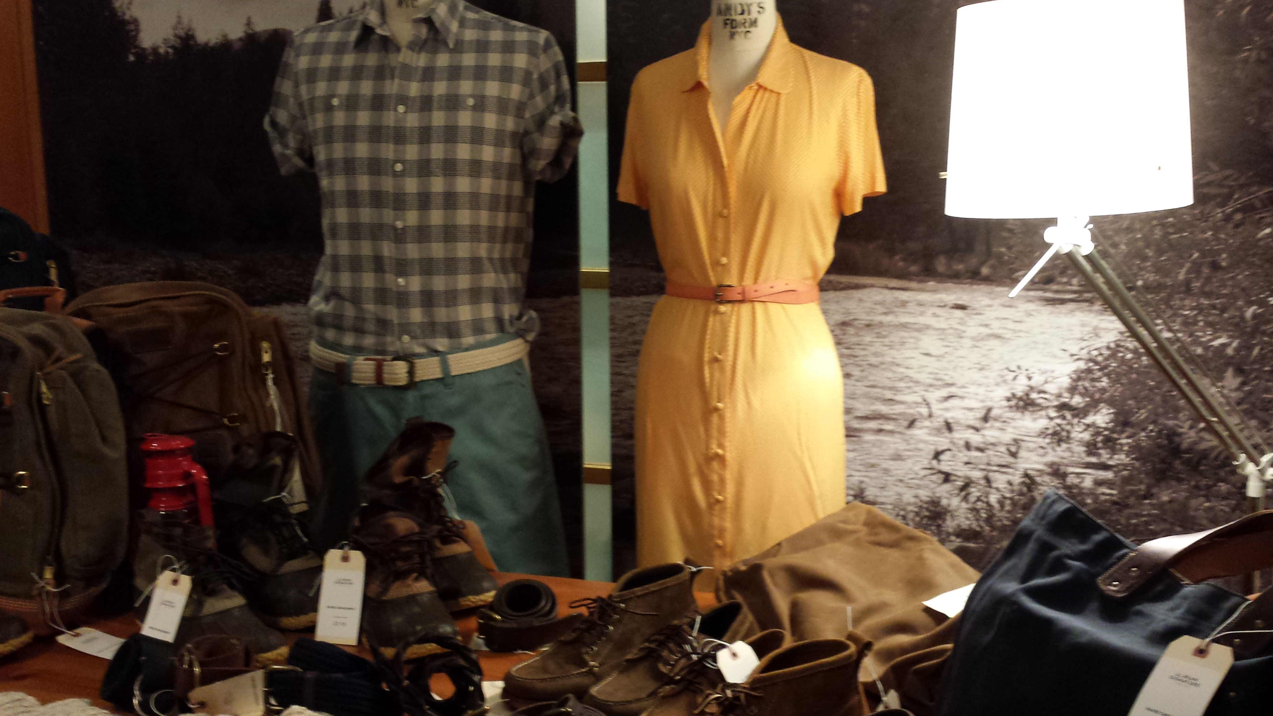 LL Bean – Spring 2014 Preview – NYC