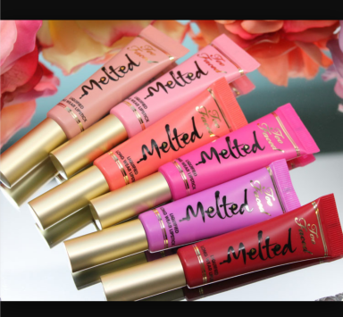 Too Faced Melted Liquified Long Wear Lipstick $21 www.sephora.com