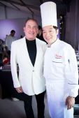 Steve Boxer and Chef Philippe Chow