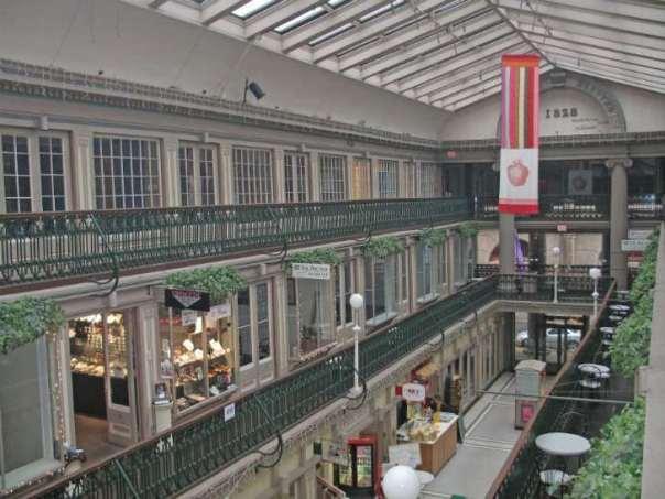 providence arcade interior
