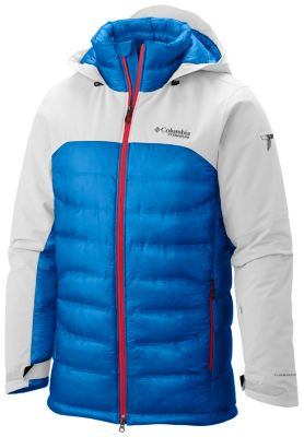 Columbia MEN'S HEATZONE 1000 TURBODOWN HOODED JACKET $450 www.columbia.com