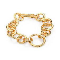 Stephanie Kantis Women's Coronation Large Chain Link Bracelet Gold $185 http://www.stephaniekantis.com