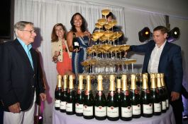 Taittinger Champagne Fountain