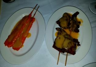 Chicken & Beef Satay