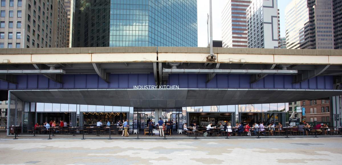 lovely industry kitchen seaport | Restaurant Review: Industry Kitchen South Street Seaport ...