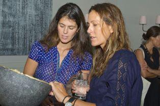 Erika Halweil and Cristina Cuomo
