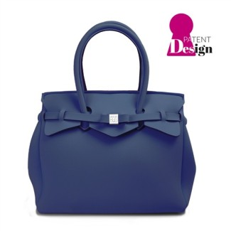 Save My Bag MISS Balena/Denim Blue $115 www.savemybag.it