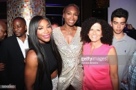 Serena Williams, Venus Williams and Michelle Imbashiani