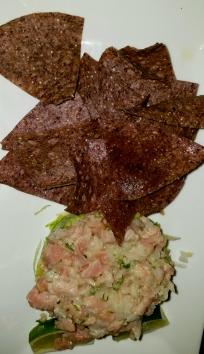 Tuna Tartare & Guacomole