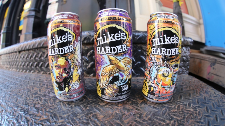 Limited Edition Harder Cans with design by Lalo Yunda