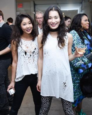 Christine Kim, Leah Michelle Oslos