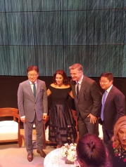 BK Yoon, Hilaria and Alec Baldwin, Harry Choi