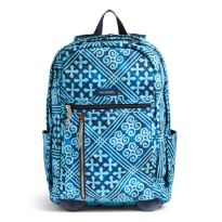 Vera Bradley Rolling Backpack in Cuban Tiles on sale $103.60