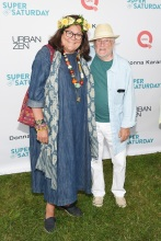 Fern Mallis and Stan Herman