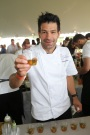 Chef George Mendes seen at the 2017 JBF Chefs and Champagne at Wolffer estate on Saturday, July 29, 2017 in Sagaponack, N.Y. (Photo by Mark Von Holden/Invision for James Beard Foundation/Invision)