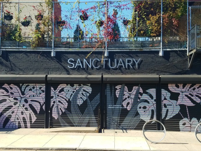 Sanctuary Salon Outside