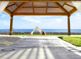 Outdoor Yoga Pavillion