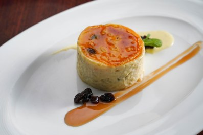 Bruleed Rice Pudding Photo: Braddock