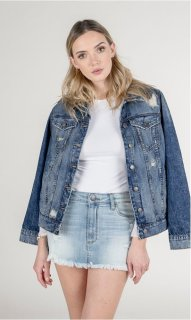 STS Denim Oversized Boyfriend Jacket