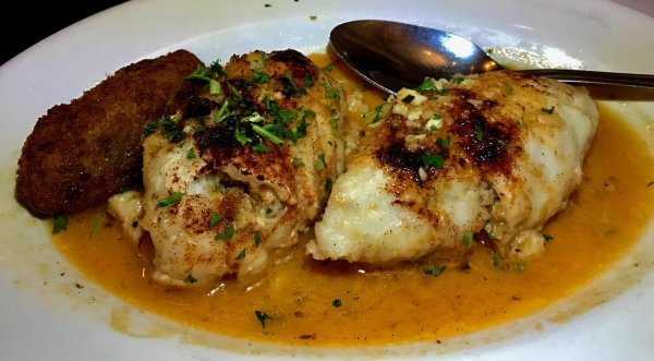 Stuffed Filet of Sole