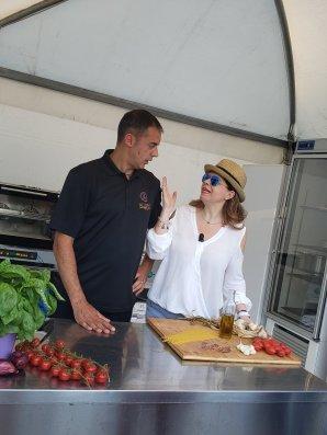 Chef Pasquale and Ornella Fado
