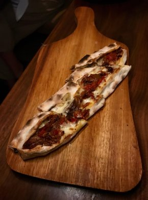 Slow Cooked Rib-Eye Pide