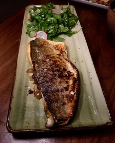 Raki Infused Branzino
