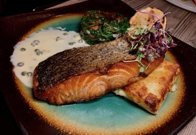 Grilled Fresh Salmon